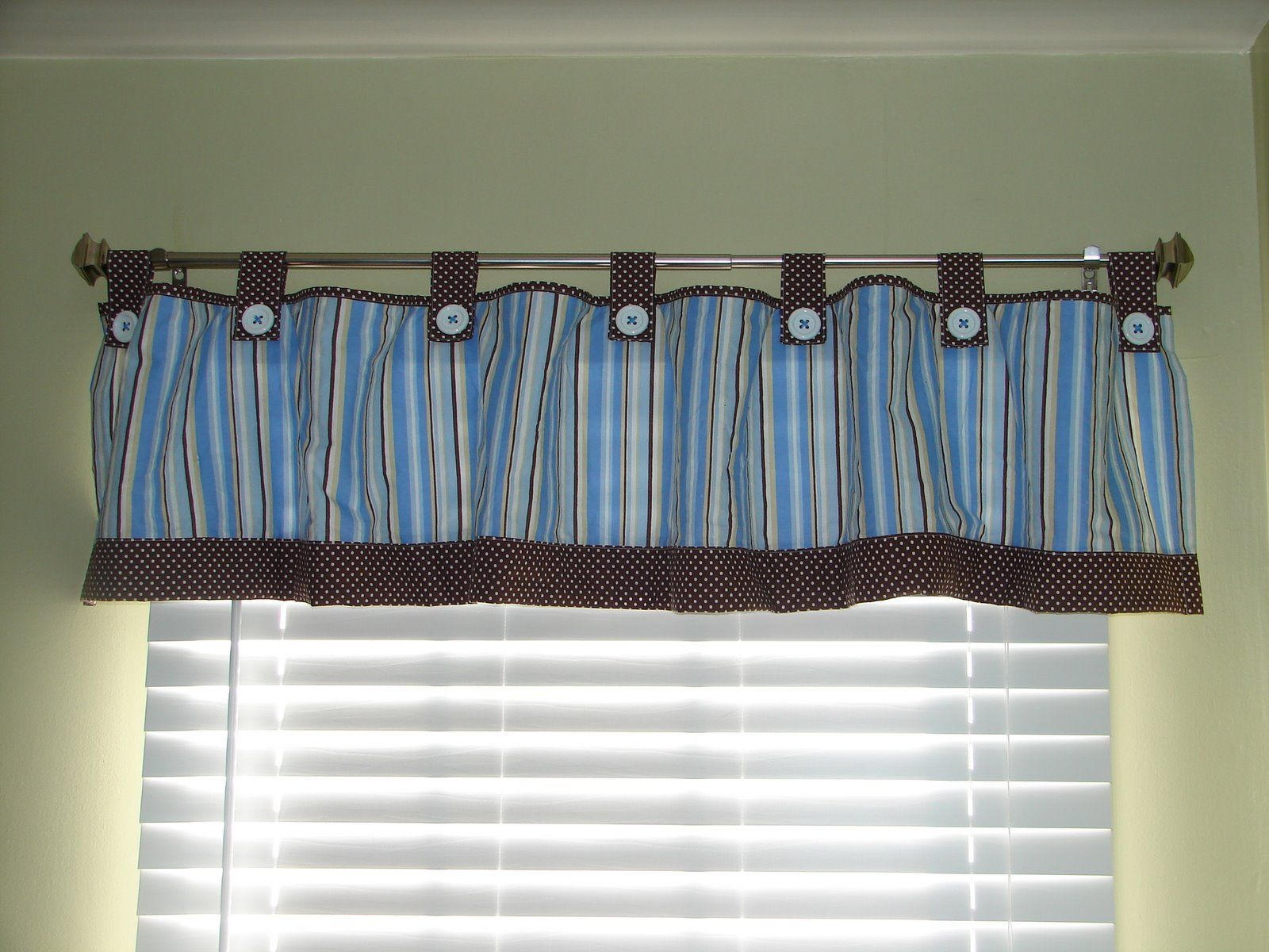 Valance | Baby Room Curtains, Nursery Valance, Boys Room Curtains