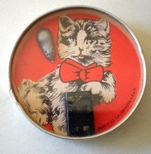 Vintage Cat & Mouse Dexterity Game