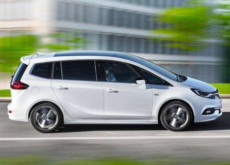2017 Opel Zafira Facelift Review Specs Price Release Date Tourer Autobilder
