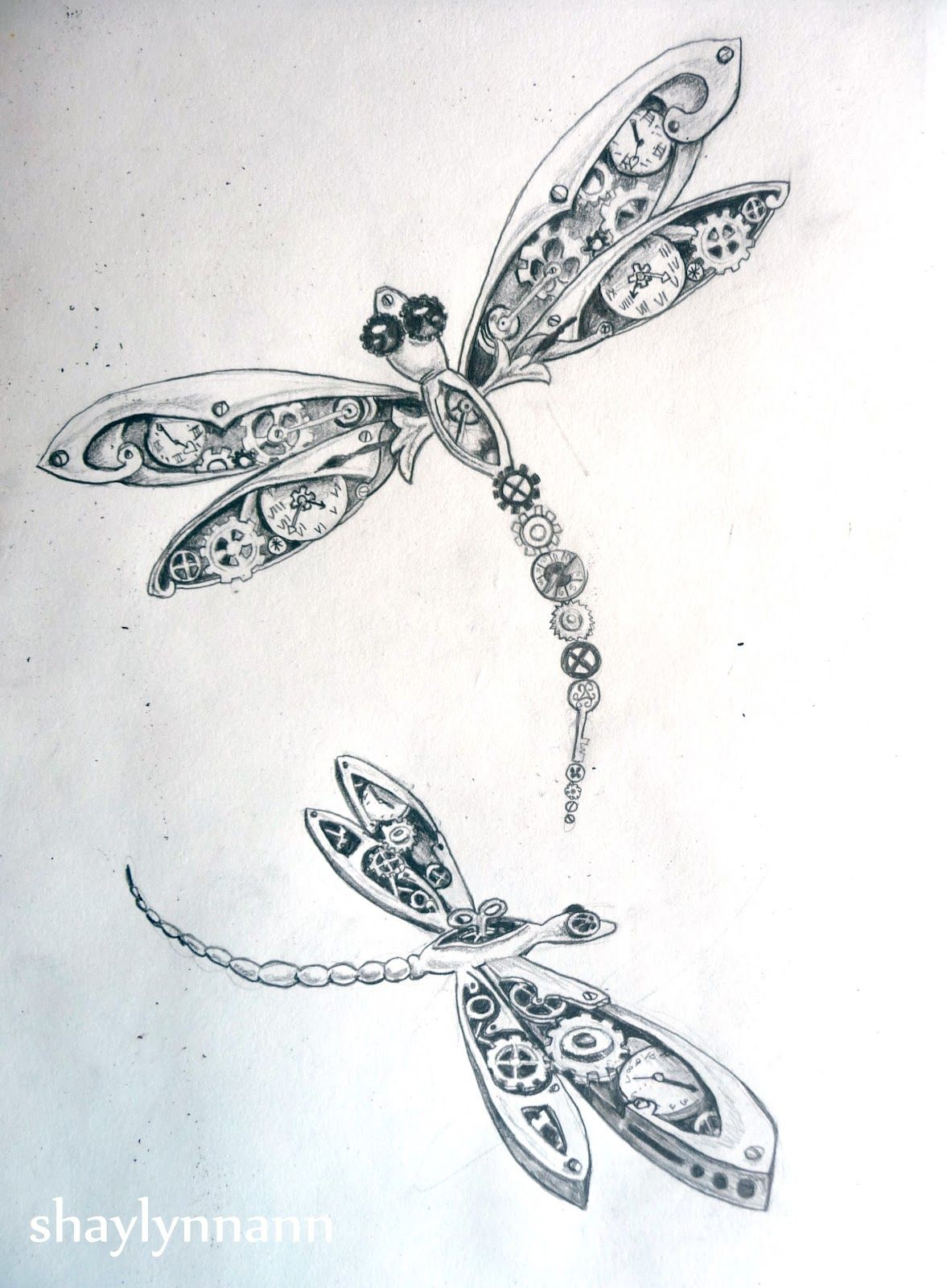 8cf156085 Dragonflies | Sketches | Dragonfly tattoo, Dragonfly drawing ...