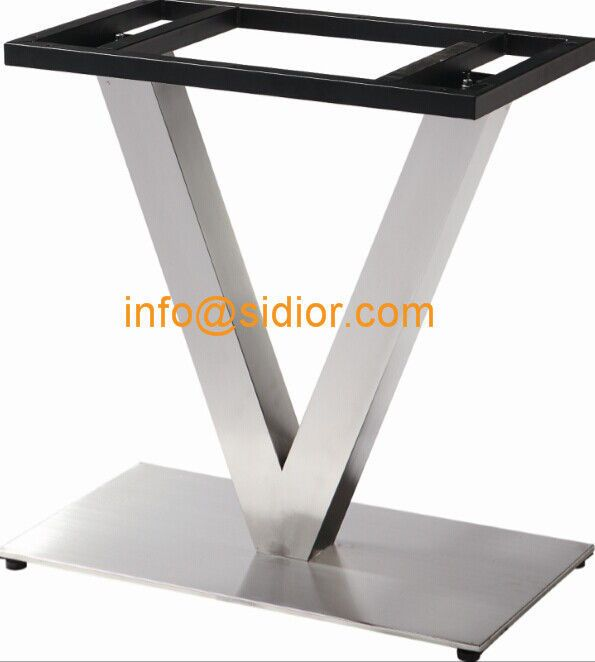 stainless steel table base square dining table leg desk furniture legs sd 739 - Furniture Legs Square