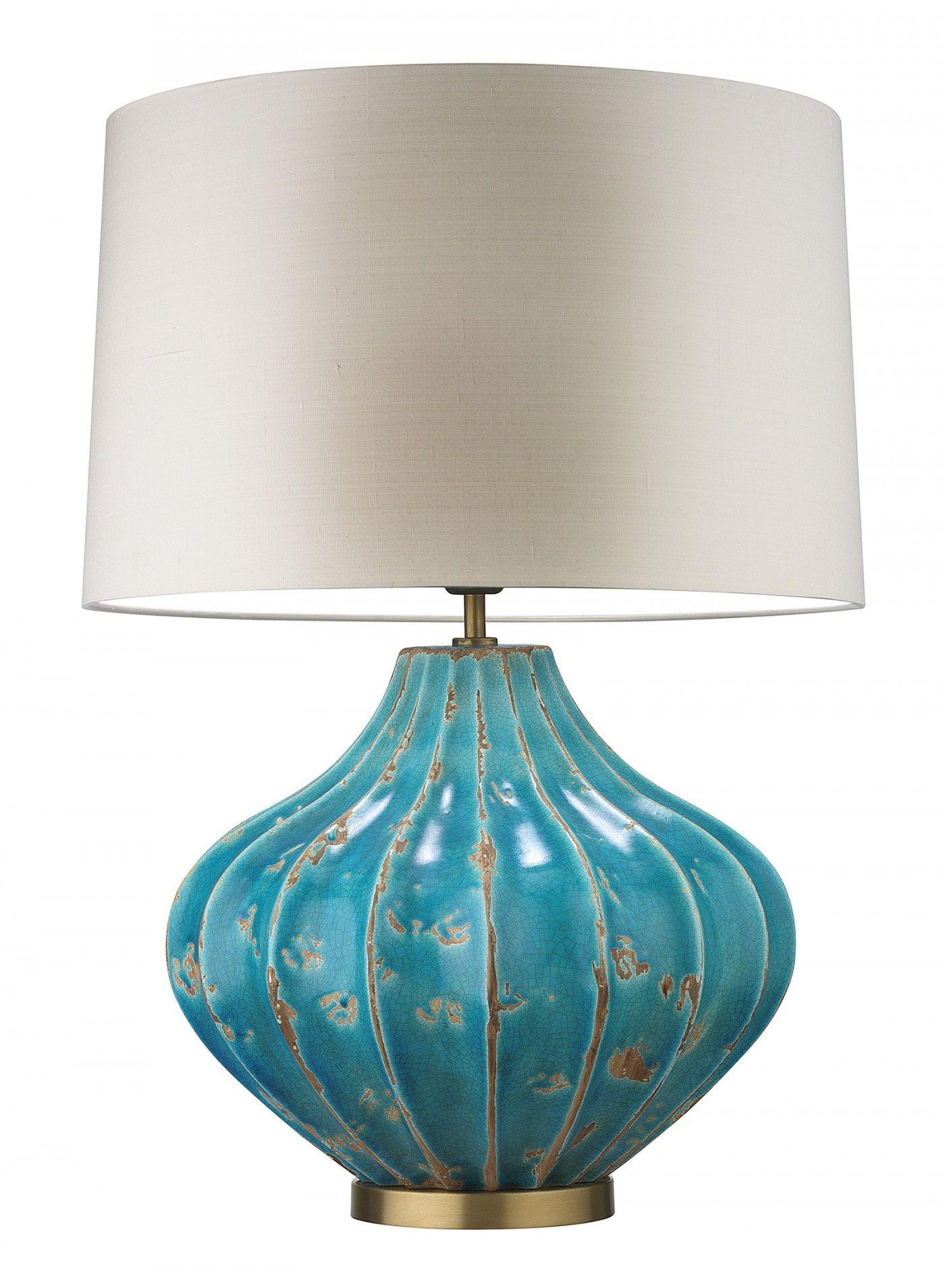 Mallory Turquoise Table Lamp Heathfield Co Lightings Table