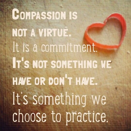 Inspirational Meme About Compassion: Compassion Quote By Brené Brown. Meme By J.m. Chasteen
