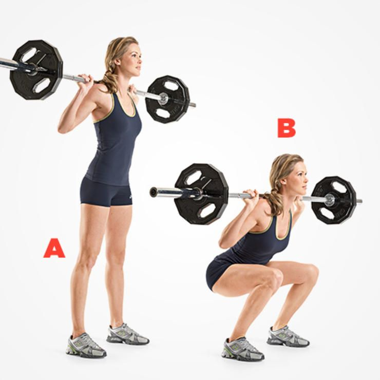 9 Burn-Tastic Ways To Tone Up With A Barbell