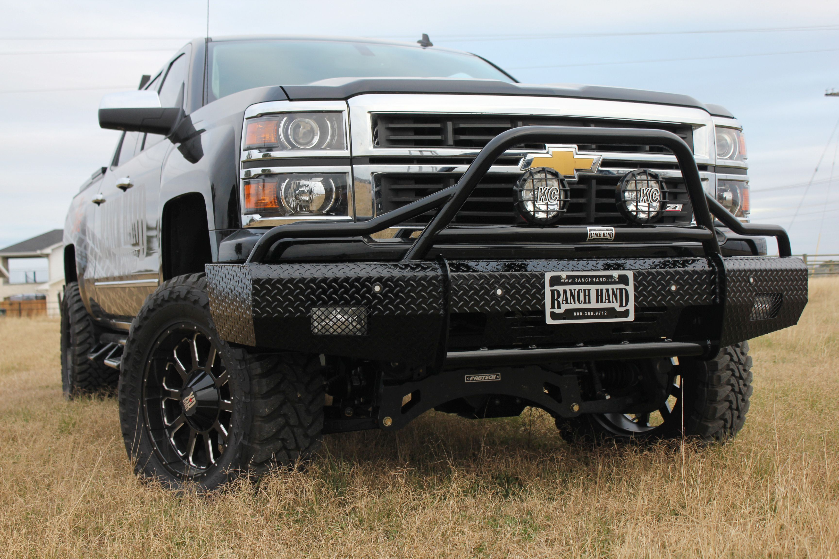 Ranch Hand Be On The Safe Side Chevy Trucks Diesel Trucks Lifted Ford Trucks