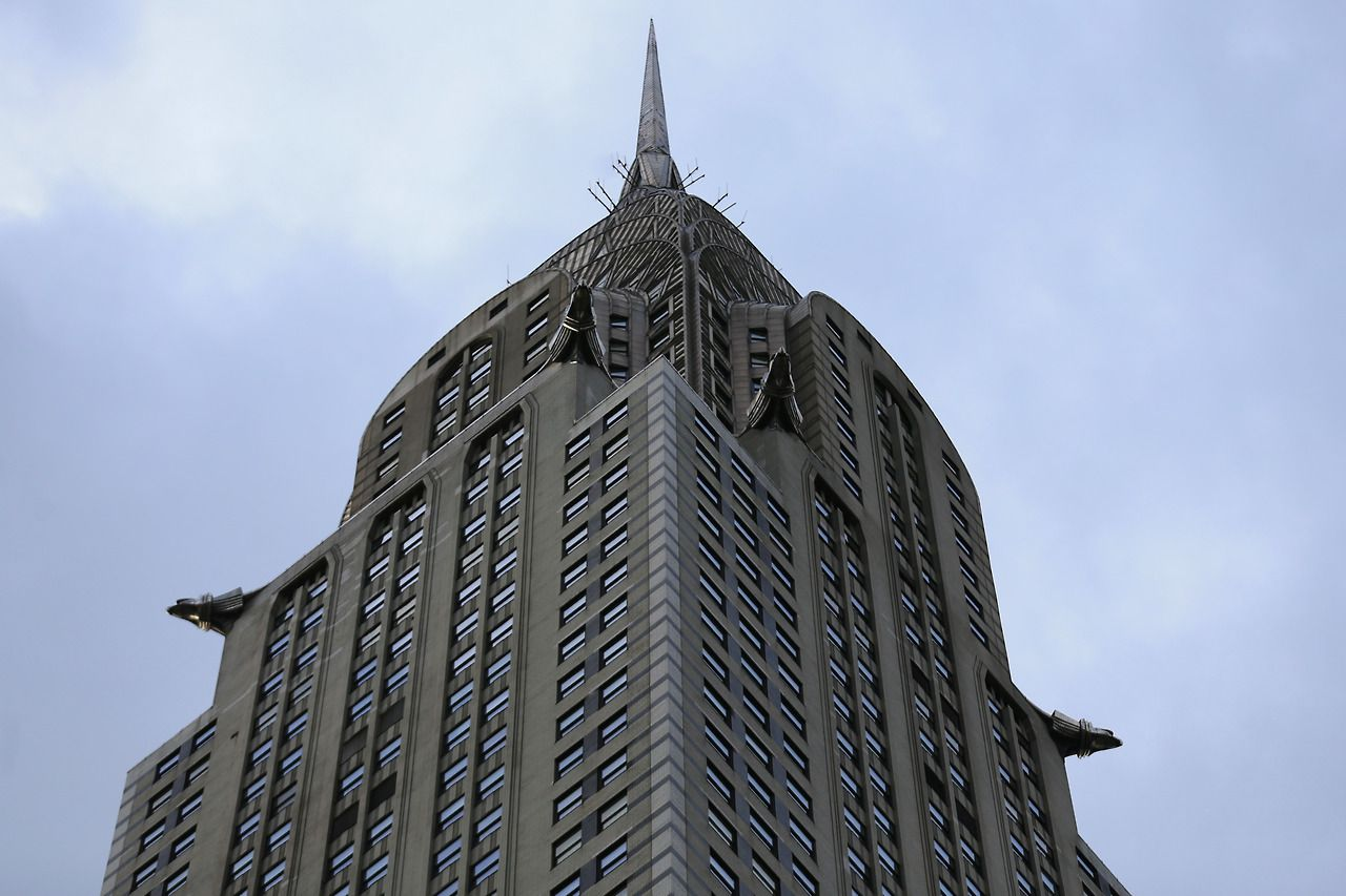 The Chrysler Building is considered a leading example of Art Deco architecture. (Gordon Donovan/Yahoo News)
