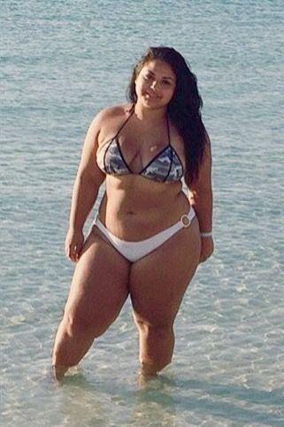 In pics girls Chubby bikinis