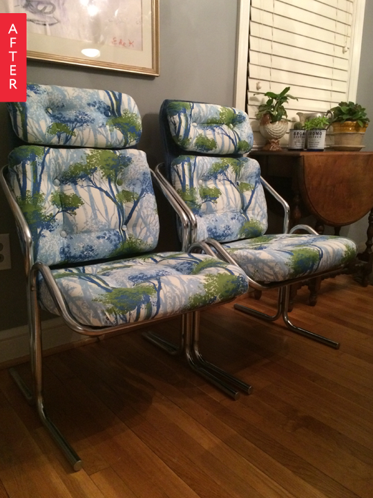 Before & After: Goodwill Finds Go Floral