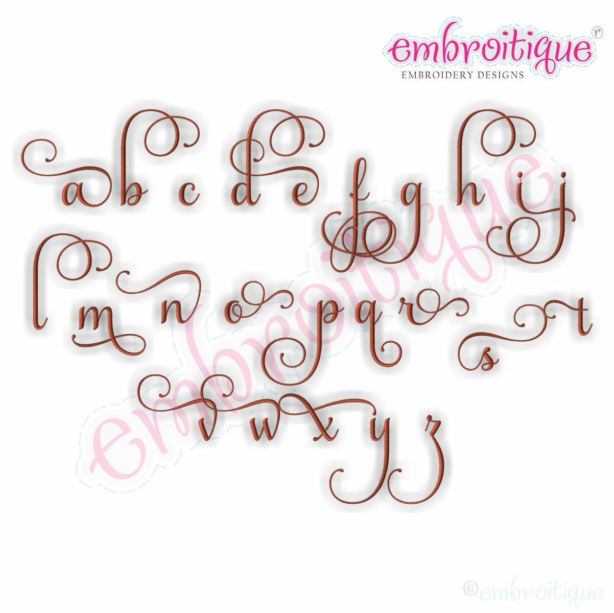 Buttercup Monogram Set Alternates 4 Small Embroidery Monogram Fonts Monogram Fonts Embroidery Fonts