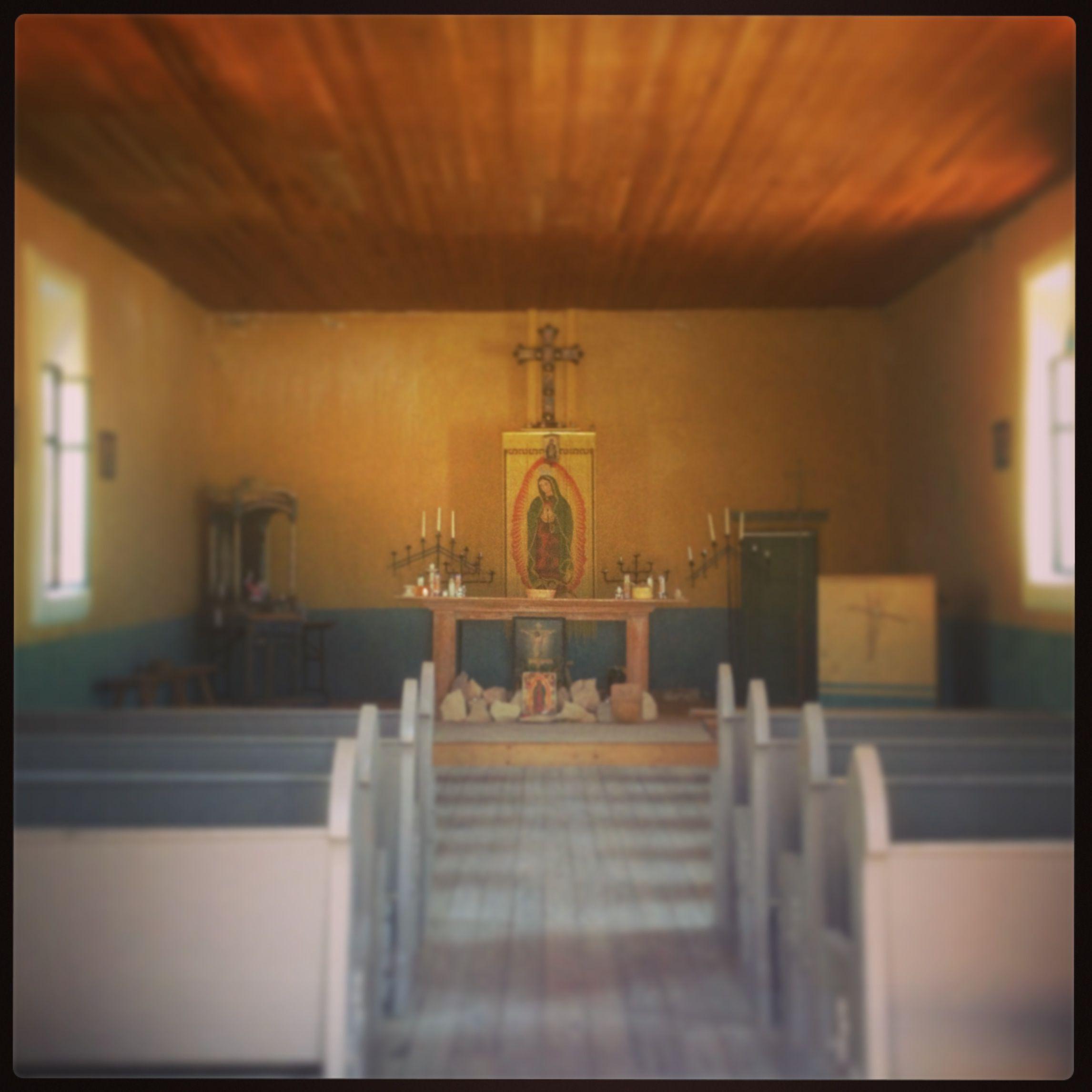 Terlingua Ghost Town chapel