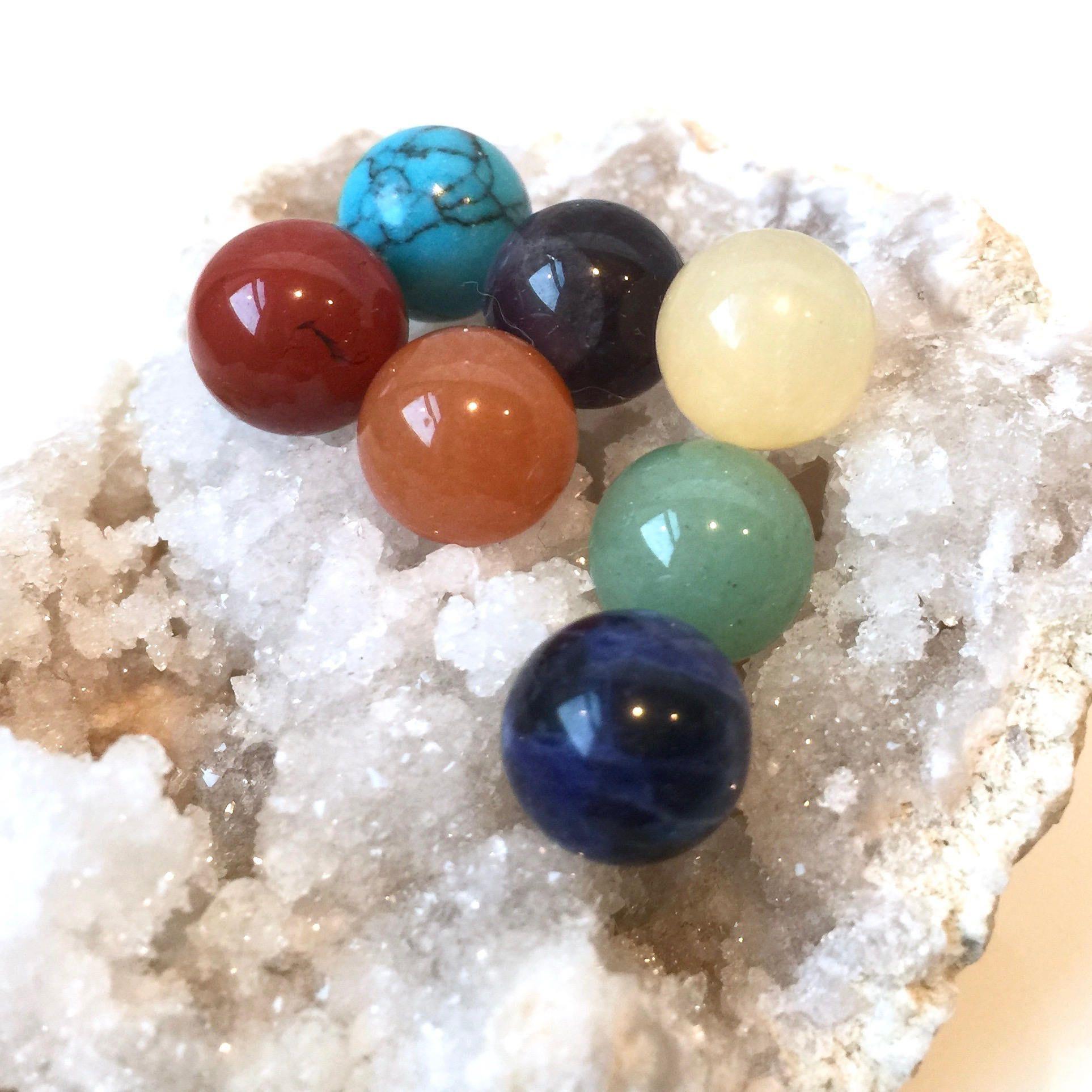 7pcs 10mm Chakra Stones Chakra Crystal Gift Set 7 Chakra Etsy Chakra Stones Chakra Crystals Chakra Beads