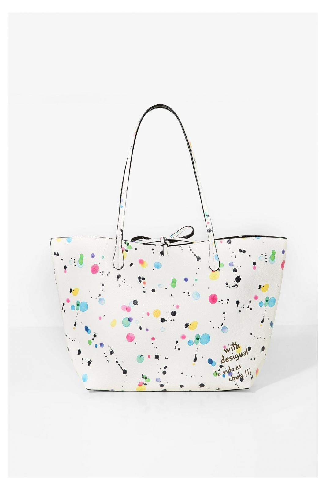 Splatter Capri 95 59 71x9eg9 1000 Shopper New Desigual nN80mw
