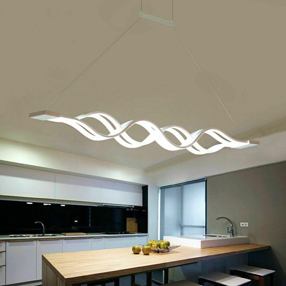 60W LED Hängeleuchte Pendellampe Hängelampe Deckenlampe