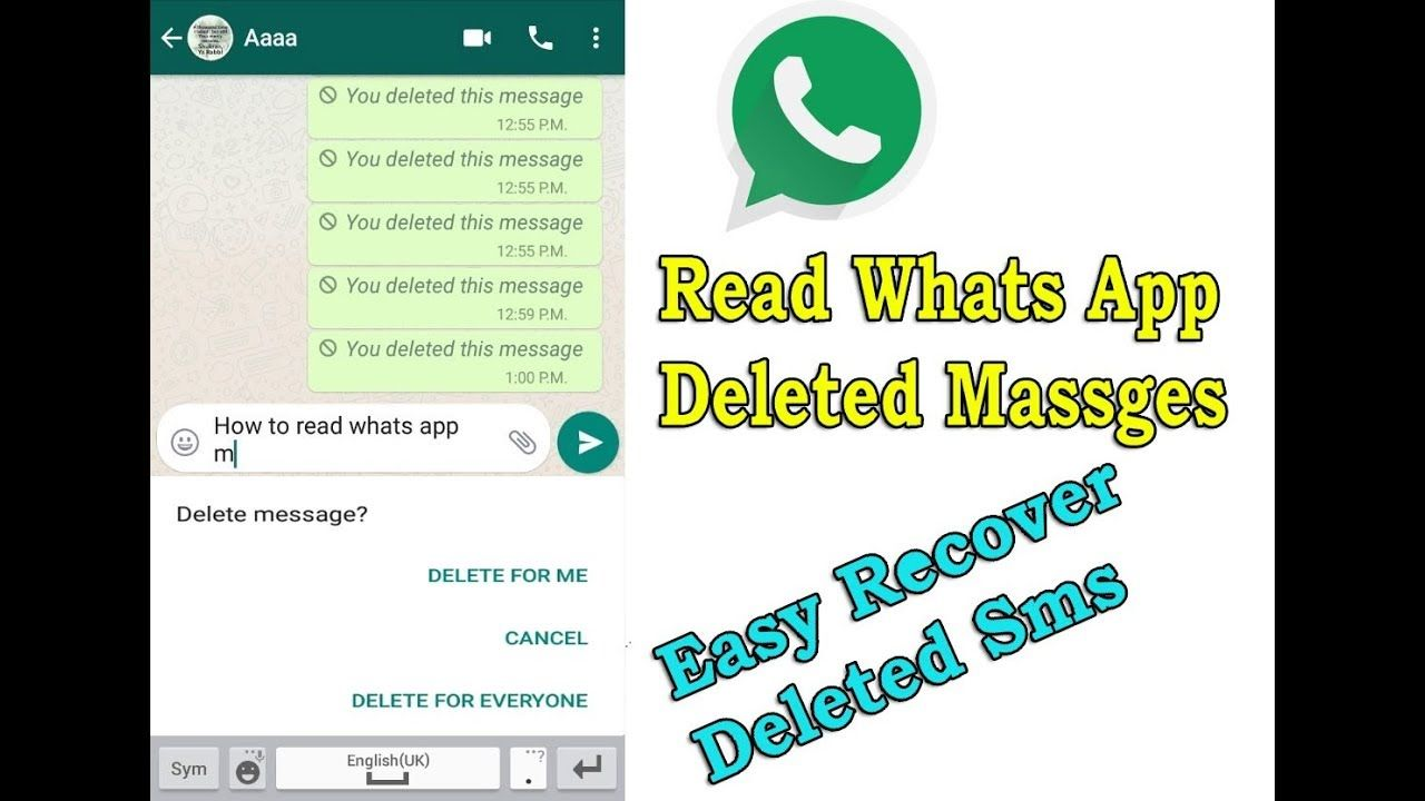 Read Deleted WhatsApp Messages   Recover Deleted Whatsapp