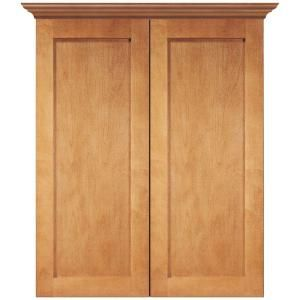 Shaker+24+in.+Bath+Storage+Cabinet+in+Cinnamon-SCSTT-CM+at+The+Home+Depot