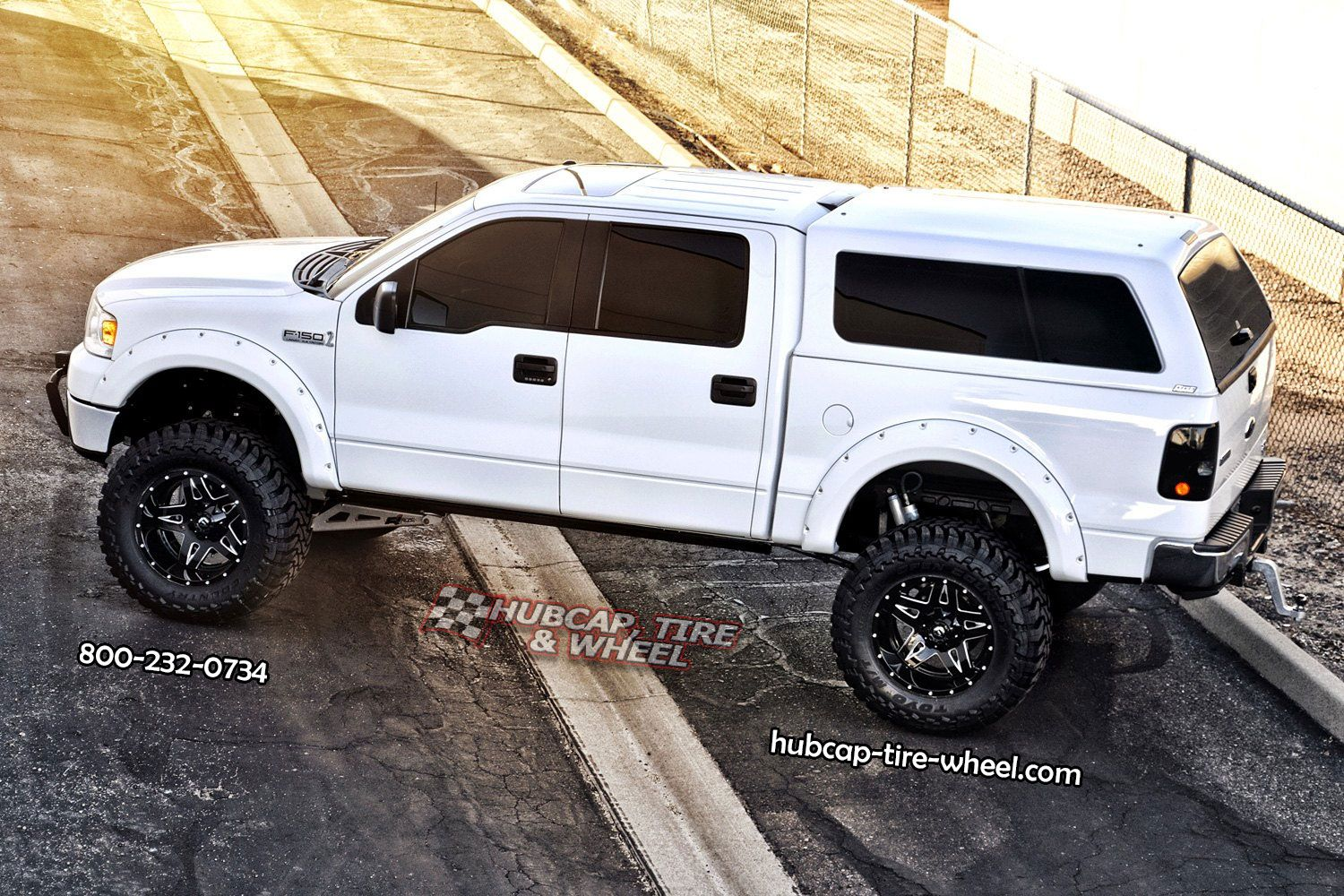 Ford F 150 With Fuel Full Blown D254 2 Piece Black Milled Wheels Ford Trucks Ford Pickup Trucks Ford Suv