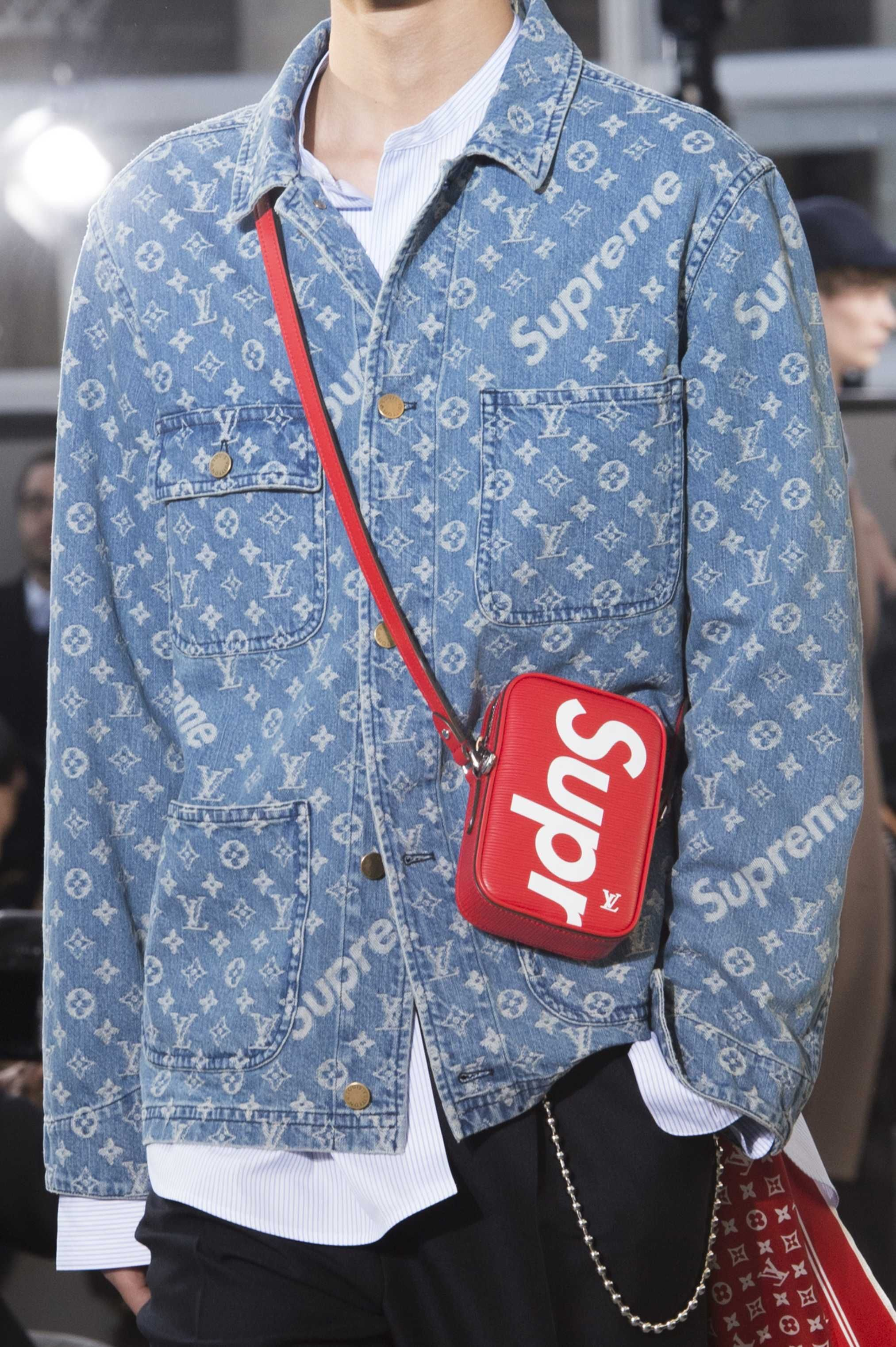 See The Louis Vuitton X Supreme