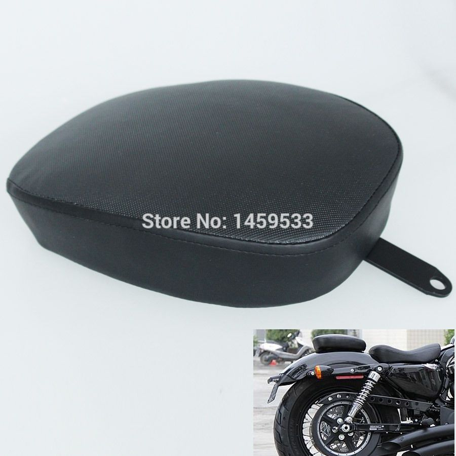 Rear Passenger Seat For Harley 48 Sportster Forty Eight XL1200X XL1200V 2010 10 Free Shipping