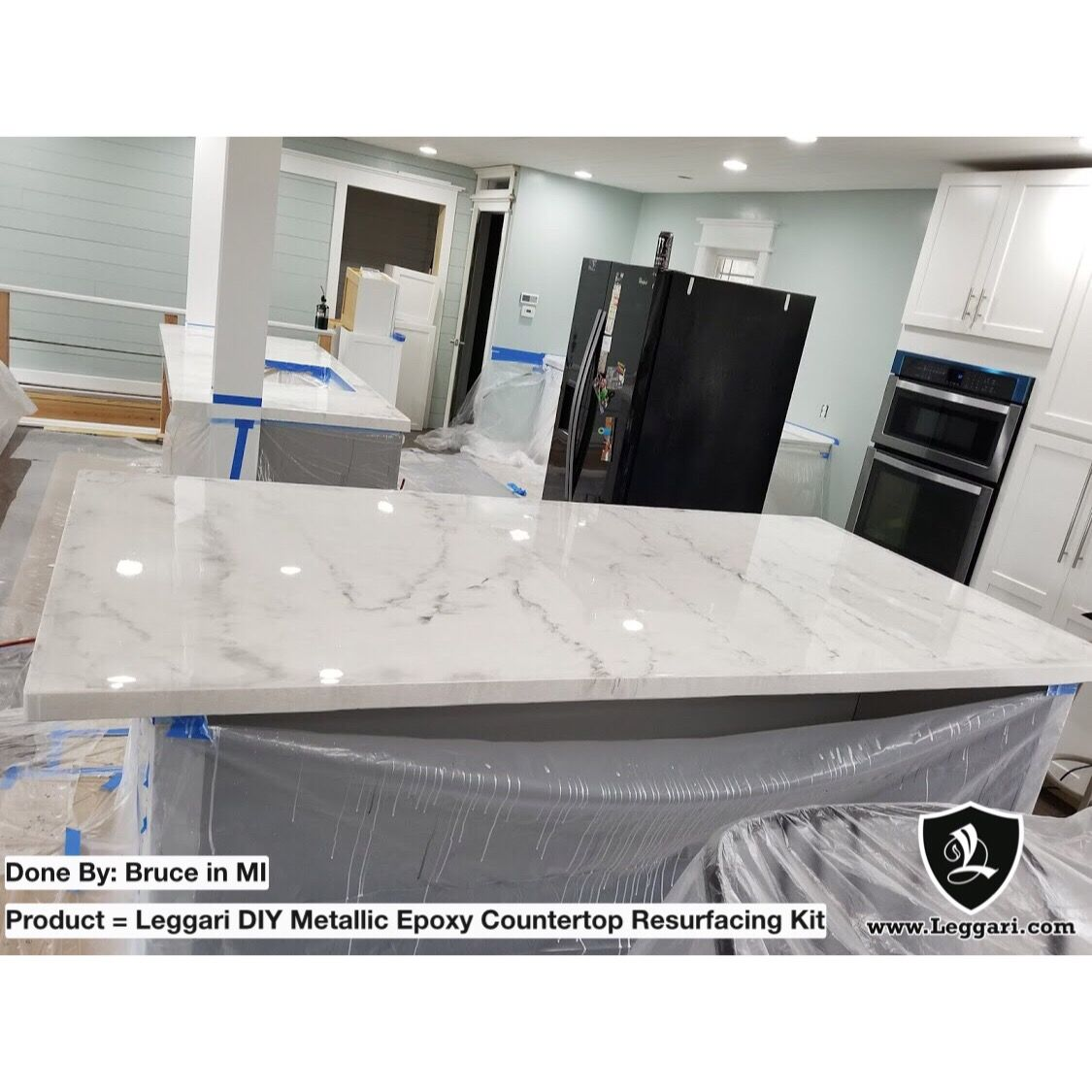 Kitchen Remodel Epoxy Countertop This Home Is Stunning