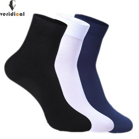 826872f93635 CERIDICAL 10 pairs/lot 2017 New Brand Cotton & Bamboo Fiber Classic  Business Men's Socks Men's Deodorant Socks Eur Size 39-45