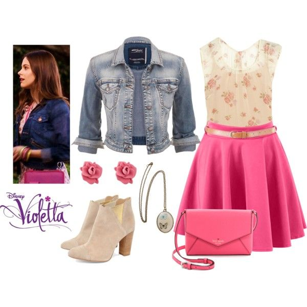 Violetta Castillo By Stylewiktoria On Polyvore Featuring