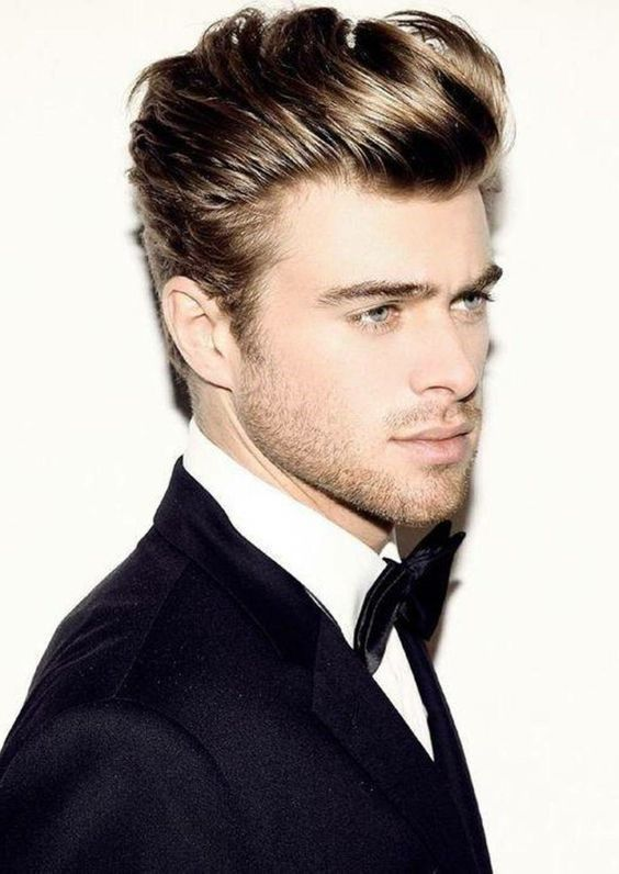 Mens Hairstyles Wedding Hairstyles For Men