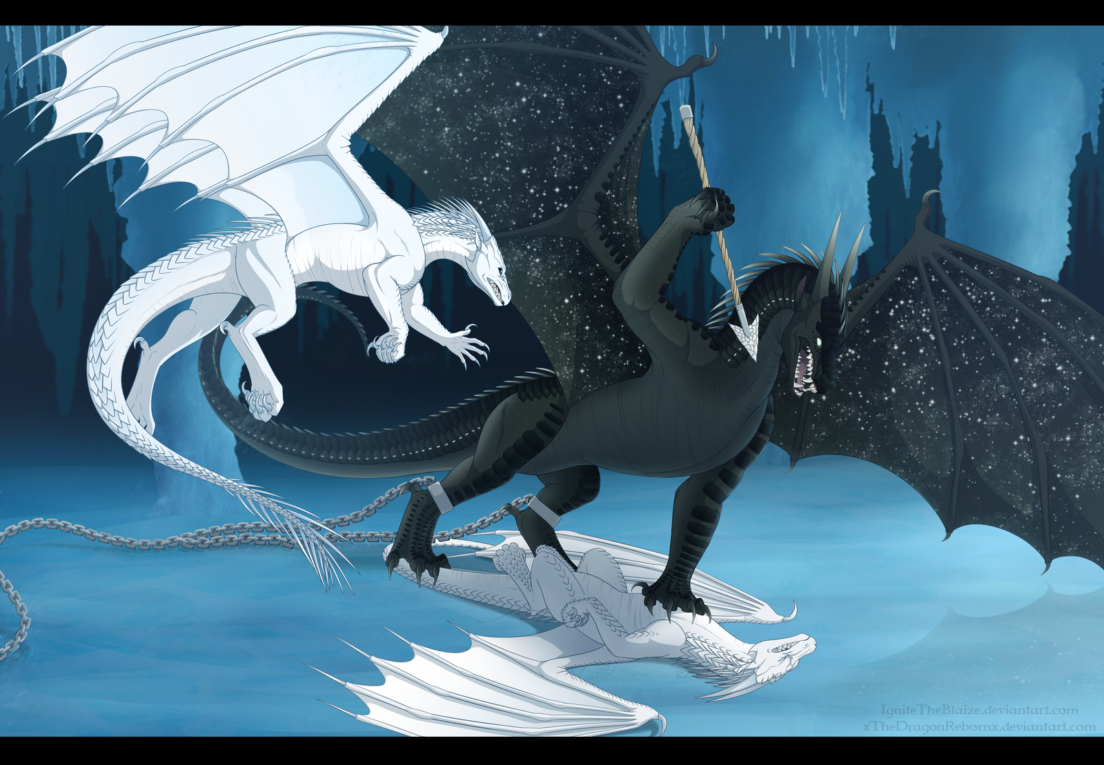 Diamond Trials Collaboration by xTheDragonRebornx Wings