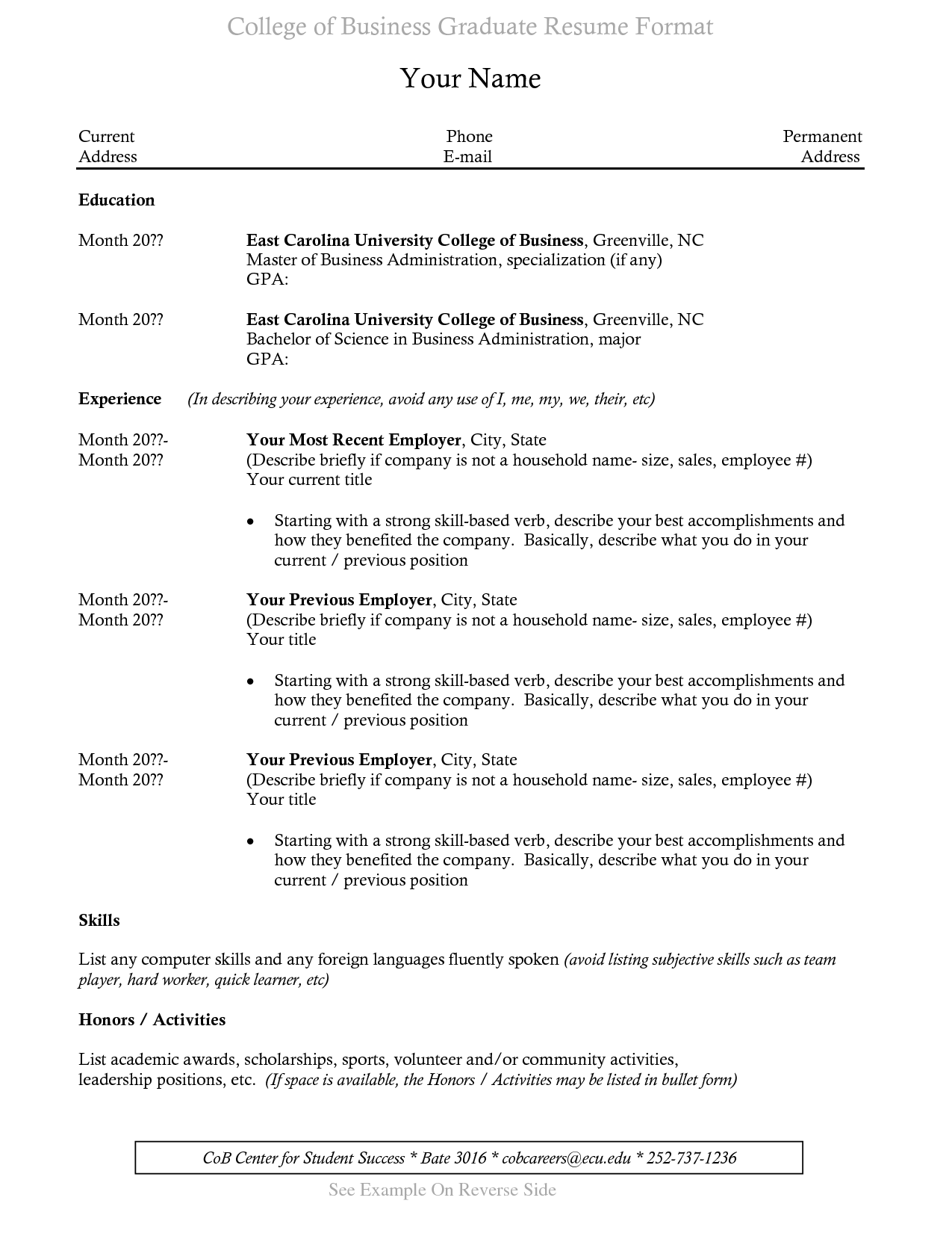 Sample Resume For Recent College Graduate Recent College Graduate  Resume Templates  Pinterest  College And .