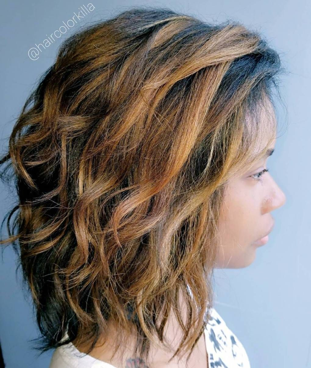 20 Perfect Ways To Get Beach Waves In Your Hair Relaxed Hair Beach Wave Hair Hair Waves