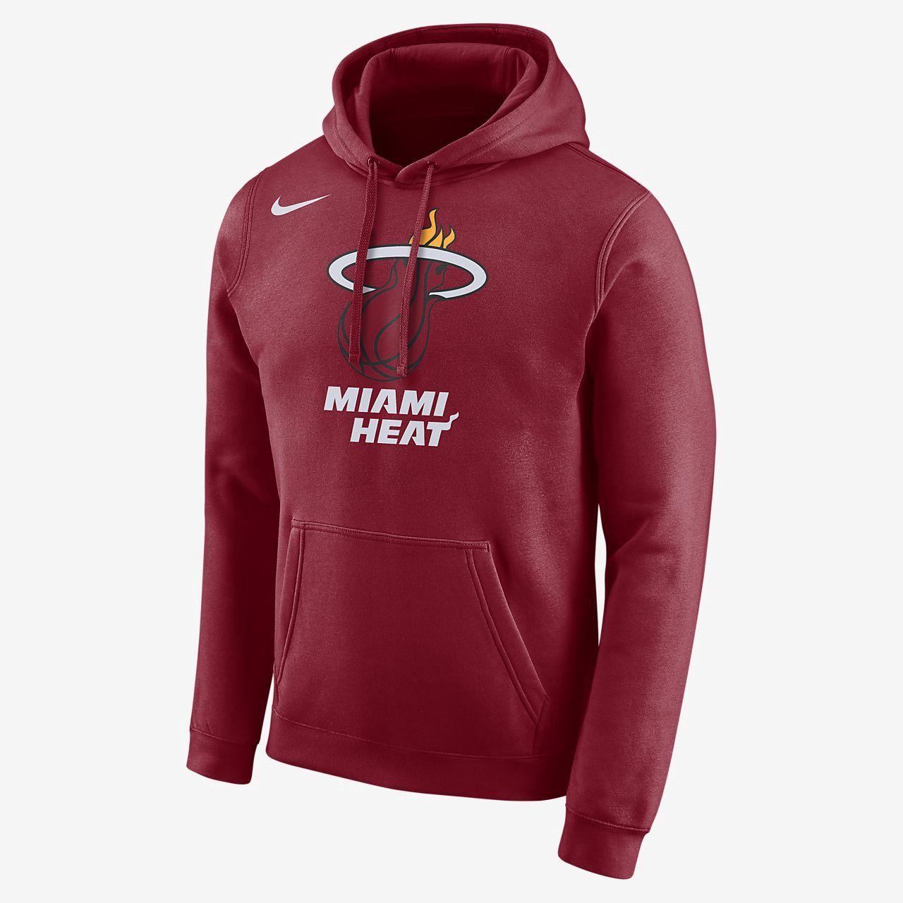 ae9c97c0b Nike Miami Heat Men s Logo Nba Hoodie - 3XL Red