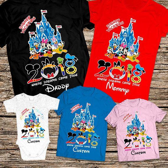 Disney Family Shirts 2018 Castle Shirt Group