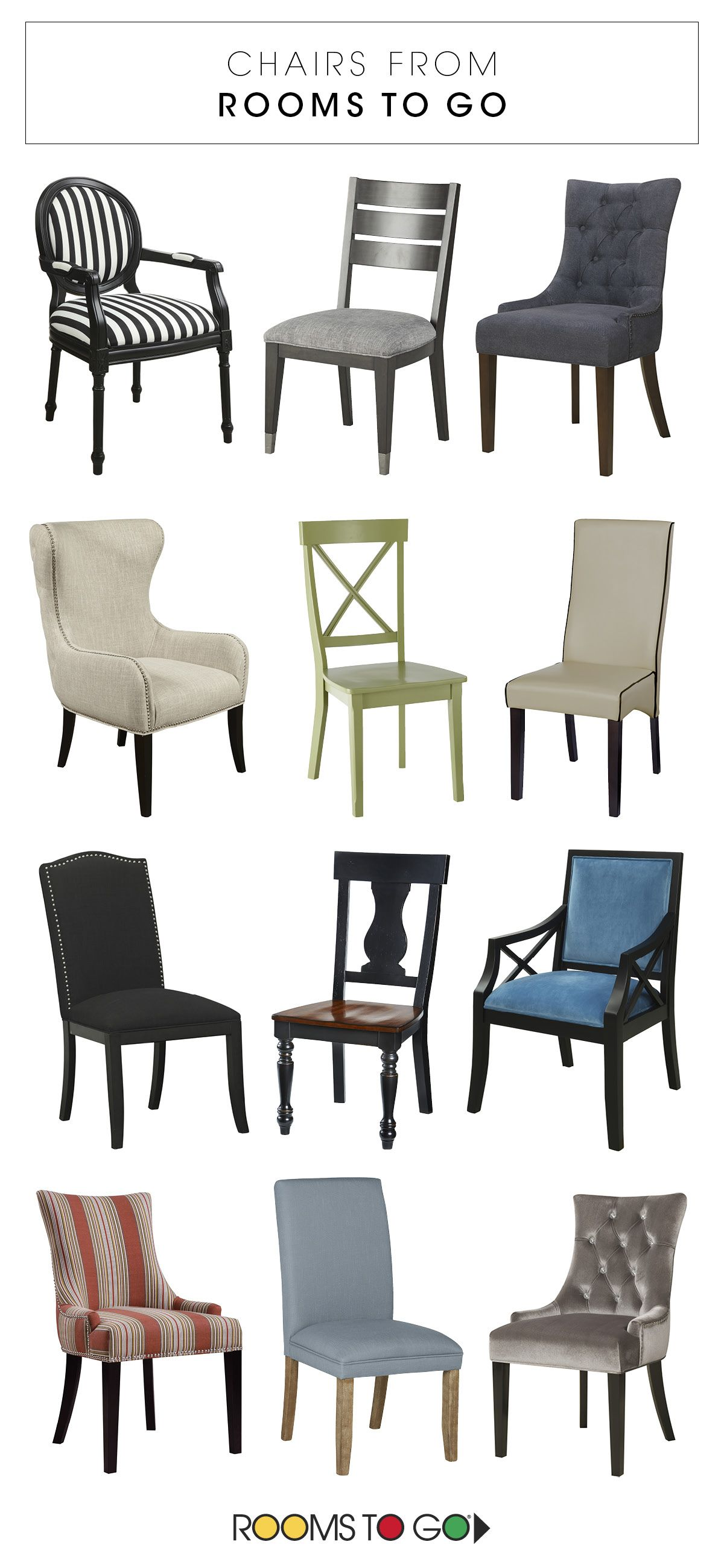 With Designs That Range From Classic And Simple To Bold And Modern There S A Rooms To Go Decorative C Dining Chairs Woven Dining Chairs Dining Room Arm Chairs