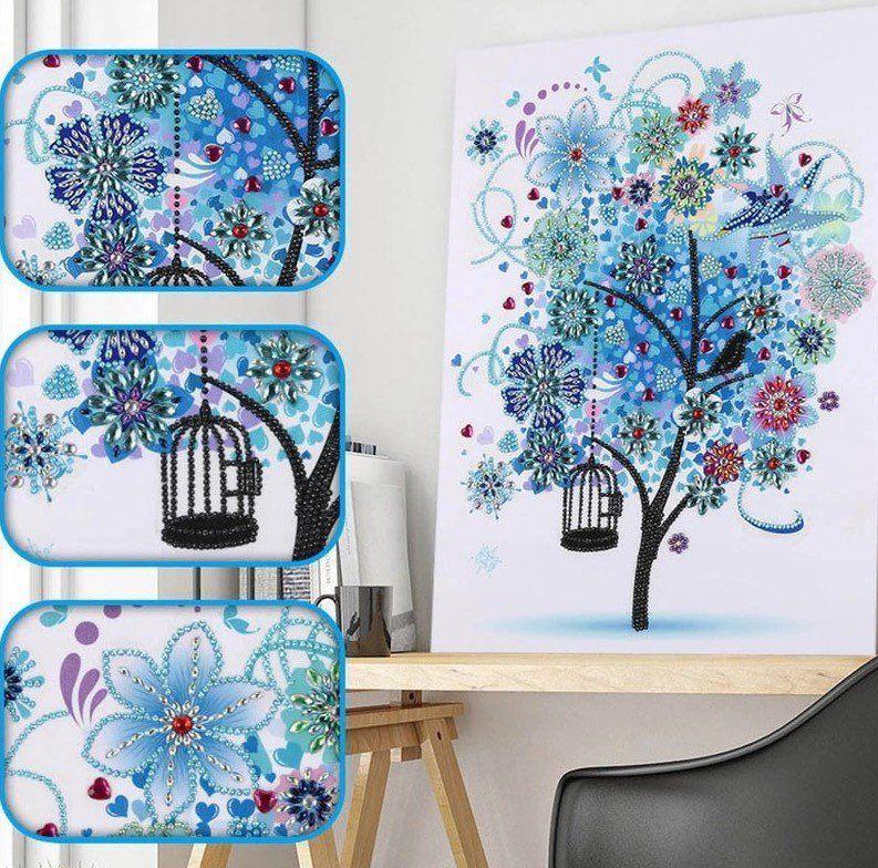 DIY Rhinestone Embroidery Cross Stitch Arts Craft for Home Wall Decor Woman Dragon 40X30cm Woman Dragon, 30x30cm 5D Diamond Painting Kits Full Drill