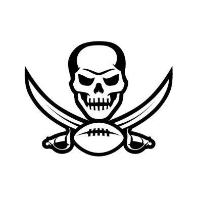 Tampa Bay Buccaneers Logo Decal Tampa Bay Buccaneers Logo Pirate Art Tampa Bay Buccaneers