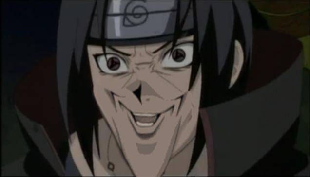 Creepy Anime Face Gets Its Own Photoshop Meme Anime Itachi Itachi Uchiha Art