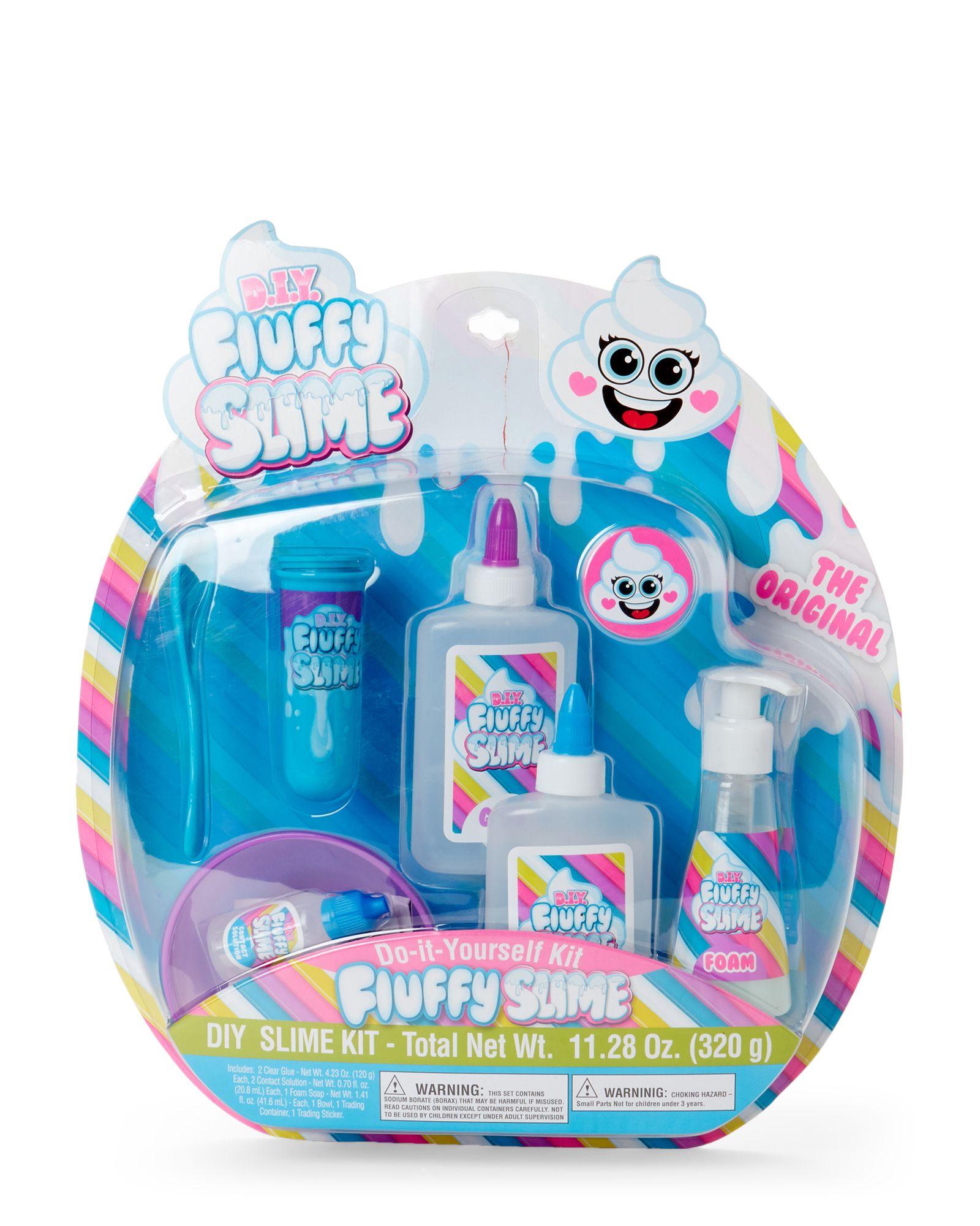 6bc65303f Yoyo Lip Gloss D.I.Y. Fluffy Slime Kit | *Home & Garden* | Diy ...