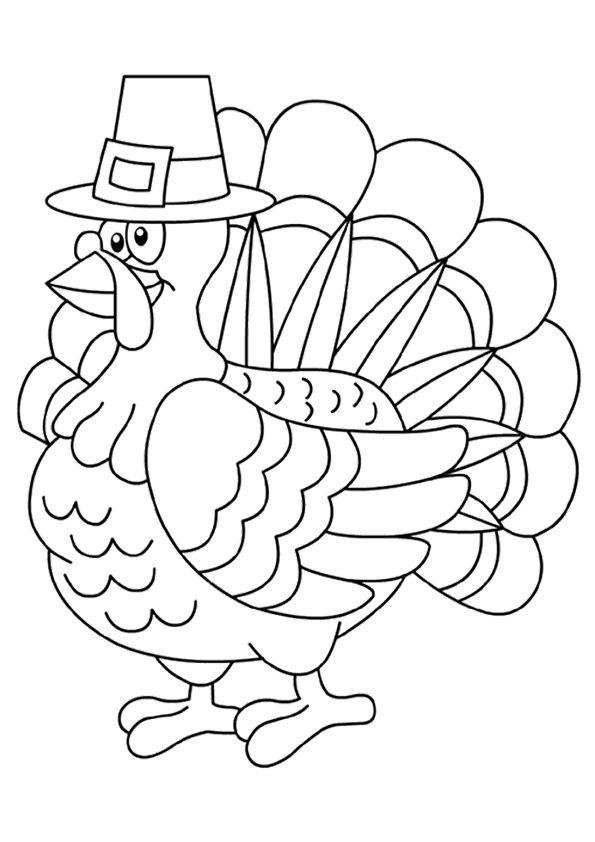 Print Coloring Image Momjunction Free Thanksgiving Coloring Pages Turkey Coloring Pages Thanksgiving Coloring Book