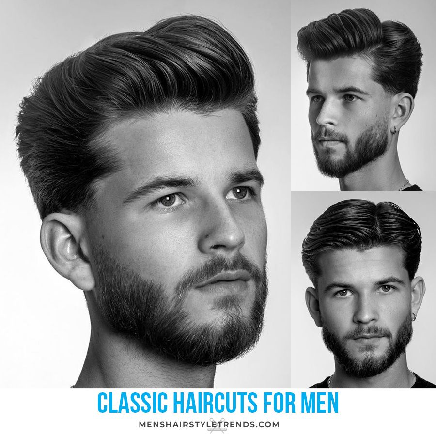 Classic Men S Haircuts Hairstyles That Are Stylish And Cool For 2020 Classic Haircut Classic Mens Haircut Haircuts For Men
