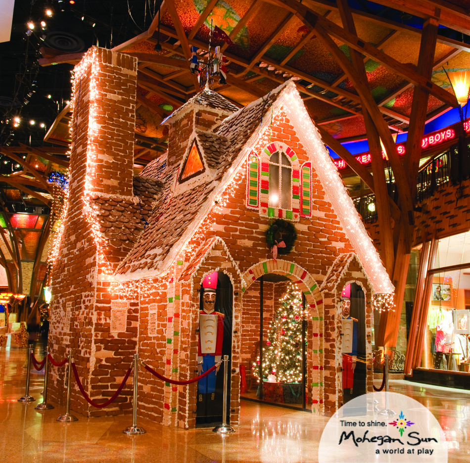 Our Life-size Gingerbread House In The Shops Is Made Of