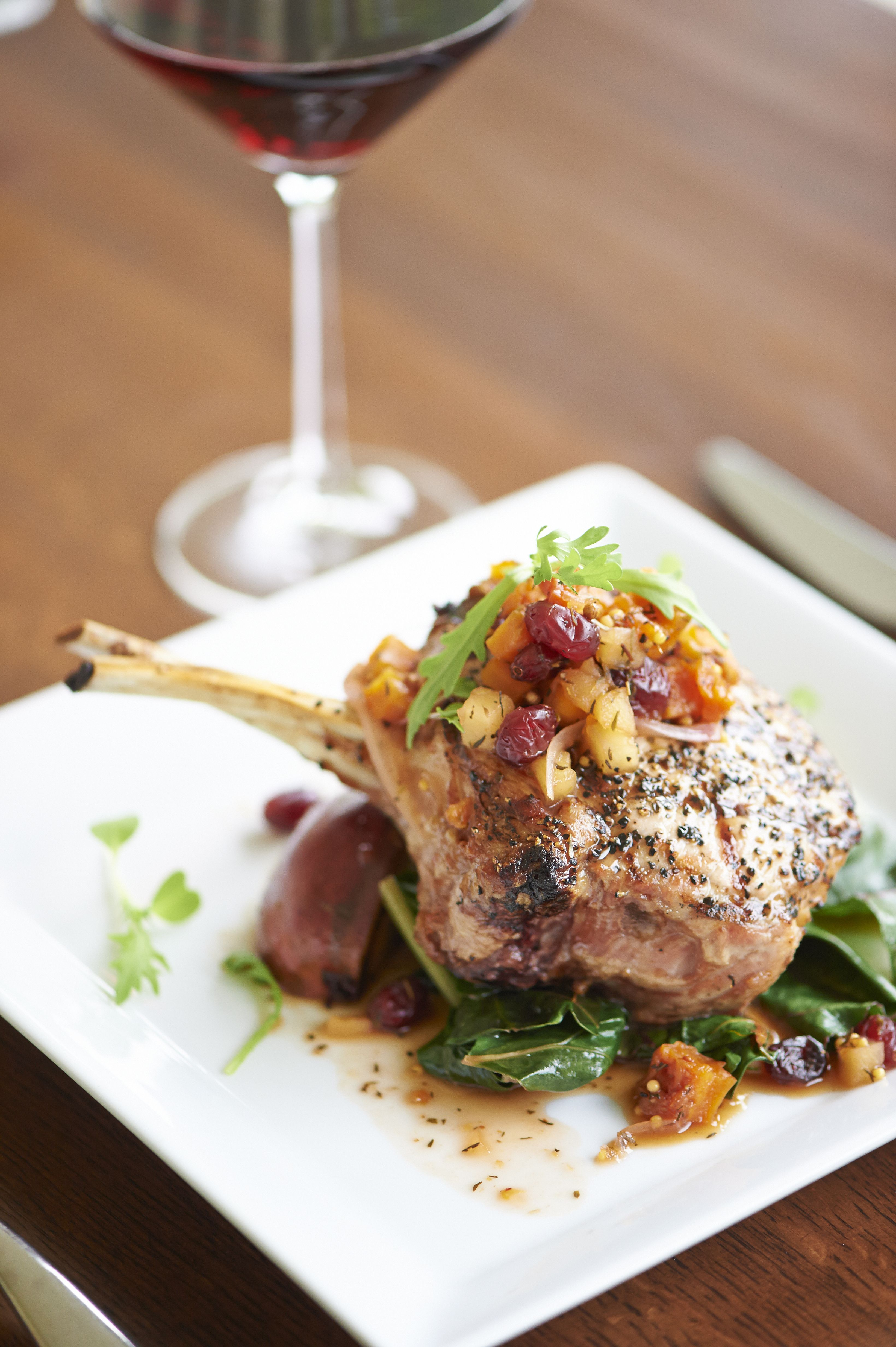 San Antonio Fine Dining Restaurants Texas Hill Country In Upscale Pork Chop