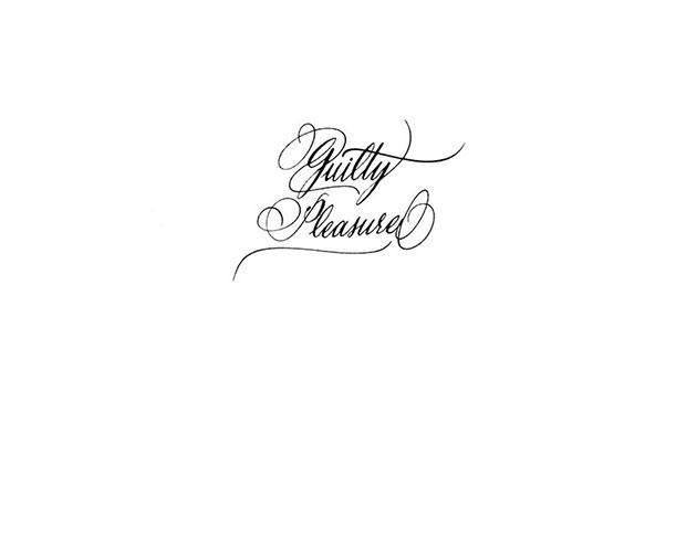Calligraphie tatouage texte lettre