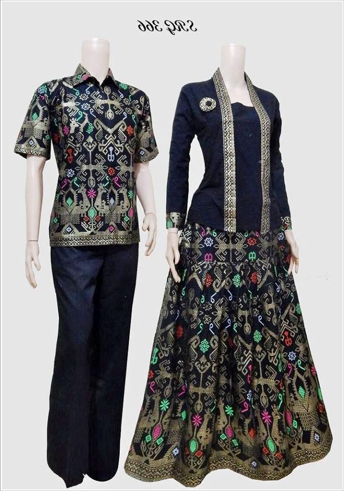 Model Baju Batik Gamis Sarimbit Terbaru Gamis Model Baju Batik
