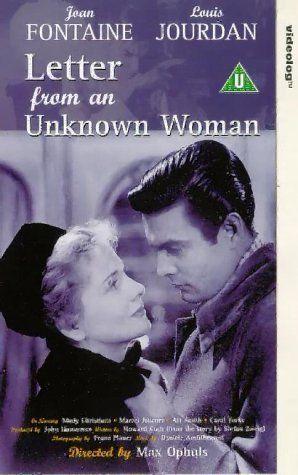 Kirje tuntemattomalta naiselta (1948)