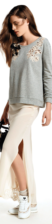 Twin-Set Simona Barbieri - Pre Collection SS 2016 women fashion outfit clothing style apparel @roressclothes closet ideas