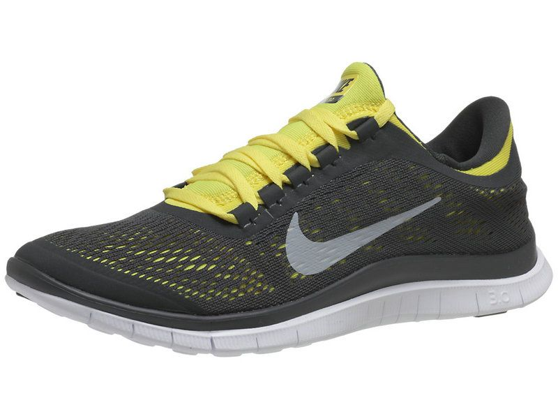 new product 7faef efea9 2018 Genuine Nike Free 3.0 v5 Mens Anthracite Tour Yellow White