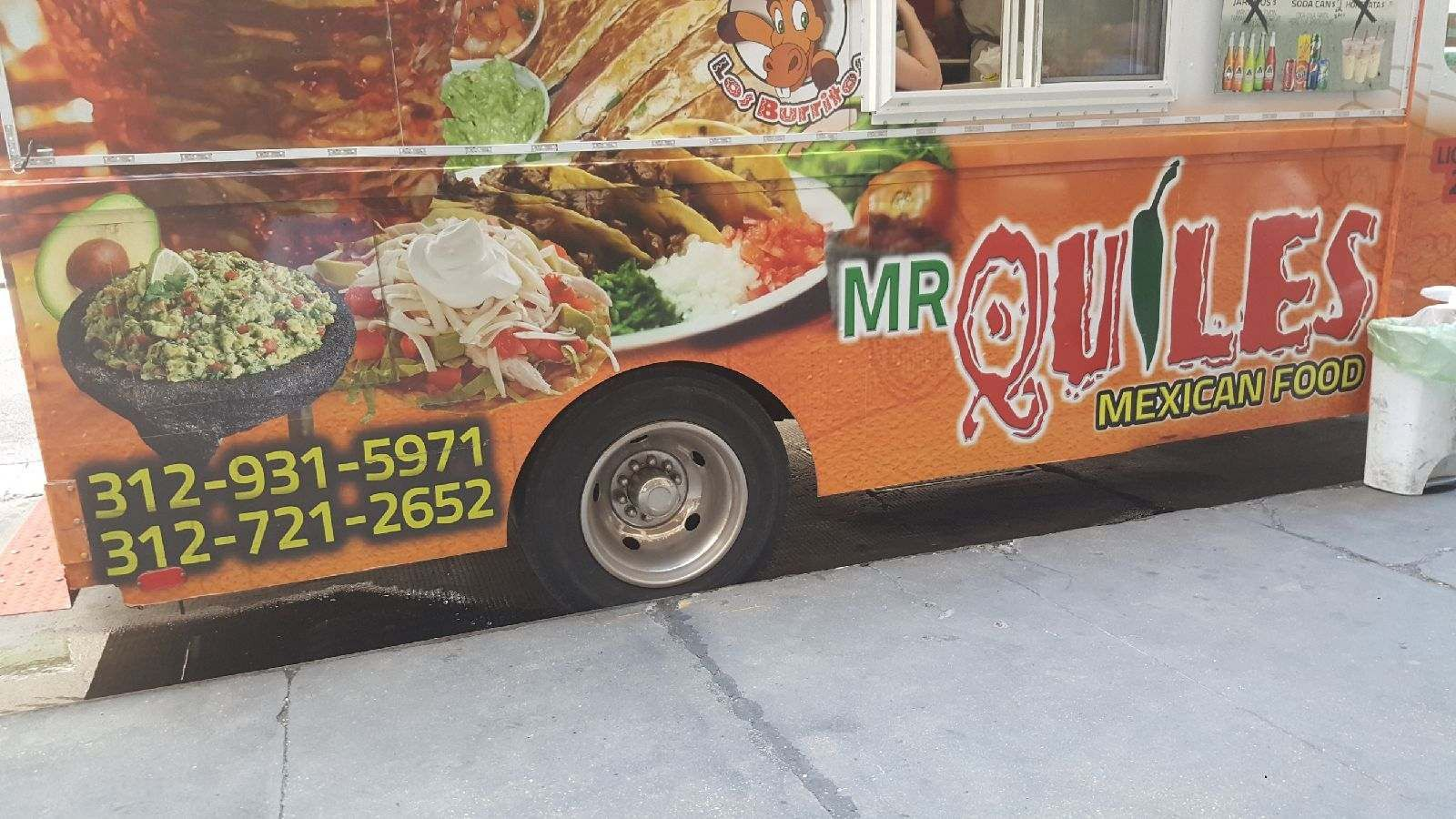 Back up taco truck option or get bbq boss food truck