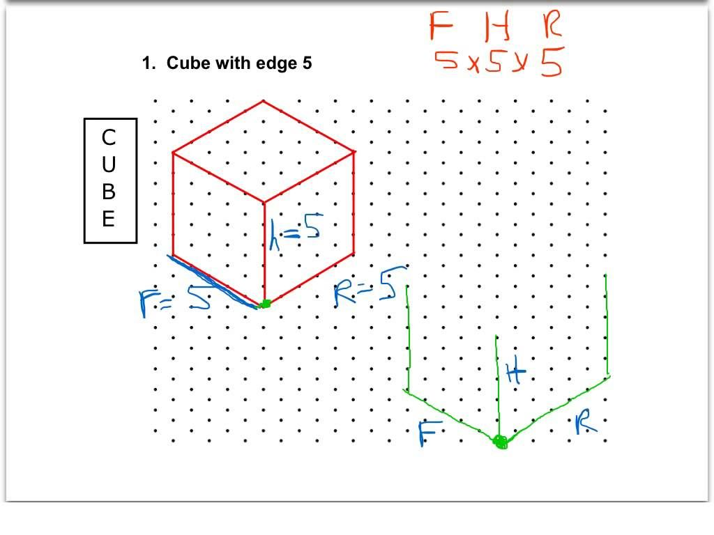 Isometric drawing exercises for kids - Search Google | Visual ...