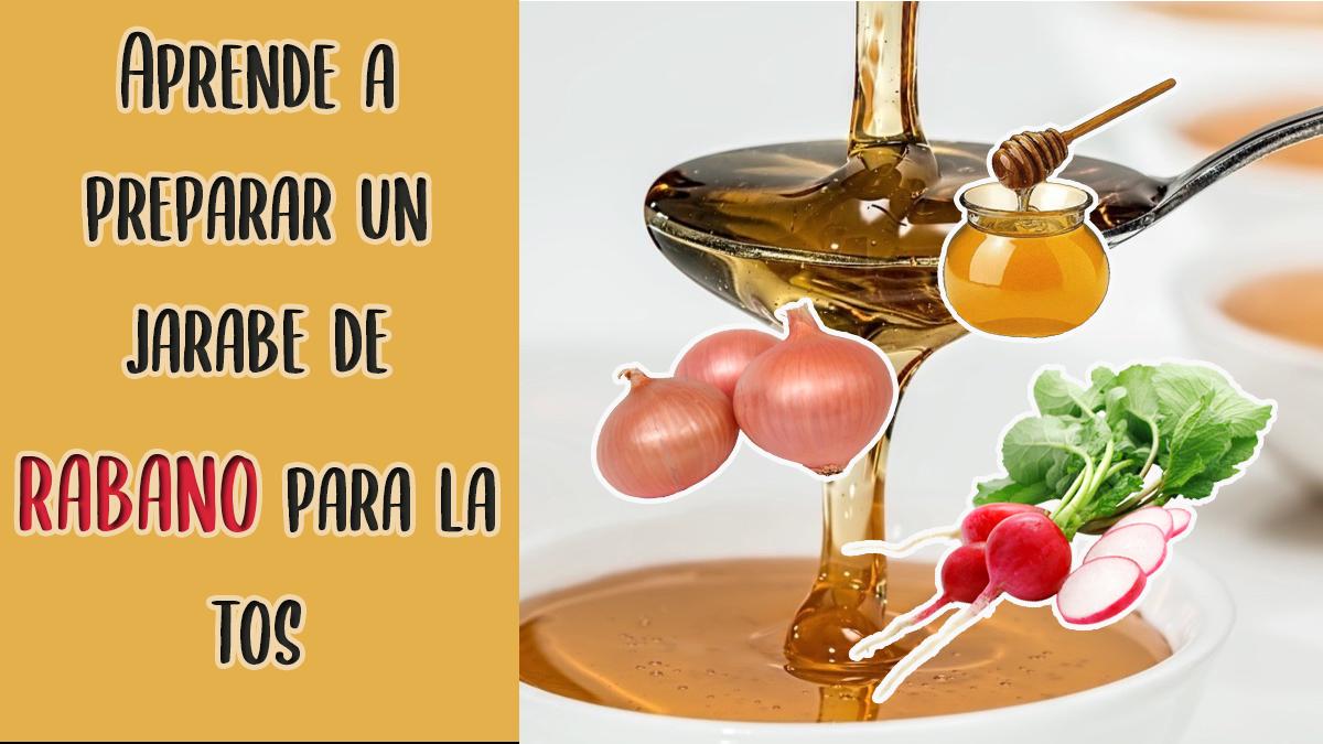 Jarabe Natural De Rabano Para La Tos Y La Mucosidad Siempre Saludable Home Remedies Herbalife Remedies