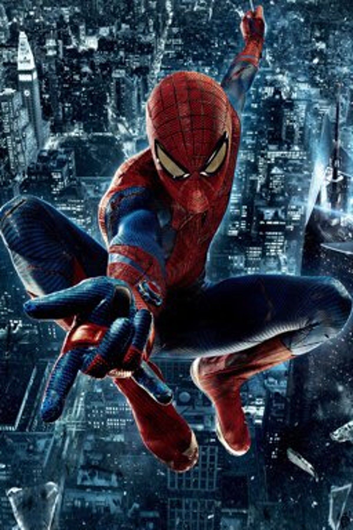 spiderman Andrew Garfield movie poster