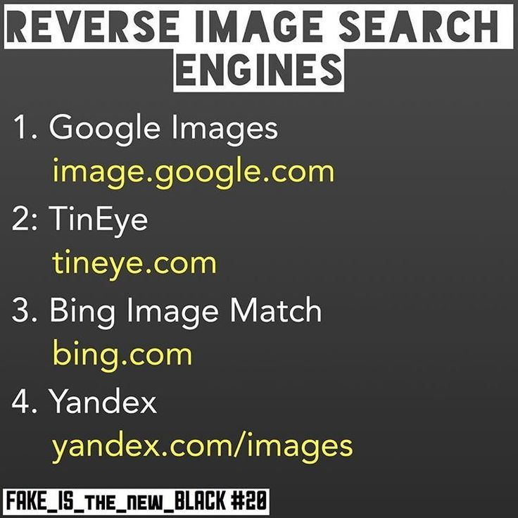 Reverse search dating